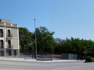 REHABILITACIÓN Y ADECUACIÓN DE CAN ROVIRALTA COMO CENTRO PALEONTOLÓGICO Y ALBERGUE RURAL Arantxa Mogilnicki Arquitectura i Paisatge Villas Arenisca Marrón