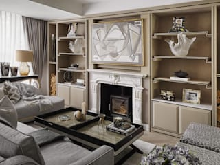 Chiddingstone, Fulham by Celine Interior Design Classic