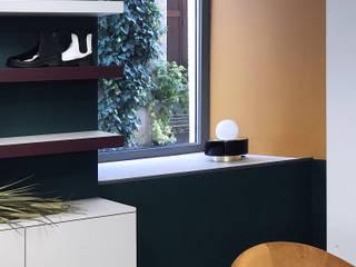 Commerce - Rénovation d'un Magasin de Chaussures - Architecture intérieure, Agencement, Décoration Espaces commerciaux modernes par Studio Bérengère Durret Moderne