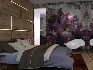 Modern style bedroom by Interior Design Stefano Bergami Modern