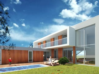 Moradia Unifamiliar em Santa Cruz - Torres Vedras por Arqui19 Moderno