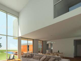 Moradia Unifamiliar em Santa Cruz - Torres Vedras Salas de estar modernas por Arqui19 Moderno