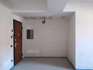 Appartamento moderno completo TREZZI INTERNI SNC DI TREZZI FAUSTO, FRANCESCO E DARIO Ingresso, Corridoio & Scale in stile moderno