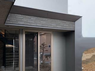 免疫力を損なわない 美徳の家 モダンデザインの テラス の HONEYHOUSE モダン