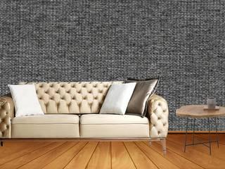 DUVAR KAĞIDI ALHAMD WALLPAPER Duvar & ZeminDuvar Kağıtları İpek Siyah