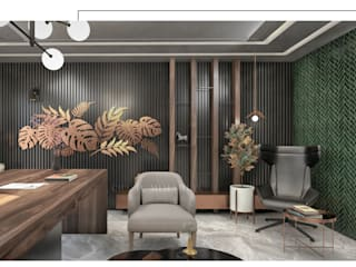CRK İÇ MİMARLIK – Sultan Ahmet Ofis Projesi: modern tarz , Modern