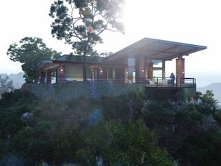 Casa de Campo en Sonora de Merarki Arquitectos Rústico