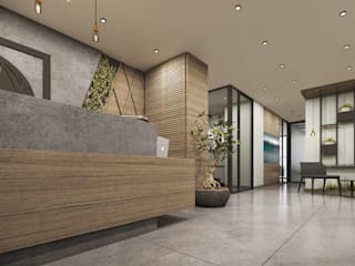 Modern office buildings by VERO CONCEPT MİMARLIK Modern