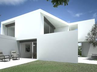 Casa em Sagres Casas minimalistas por Lines & Narratives Minimalista