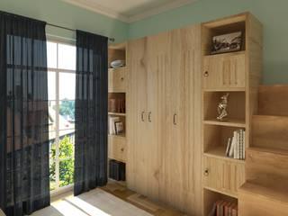 Çocuk Odası Tasarımı Modern Çocuk Odası Yeşil Aks Mimarlık Modern
