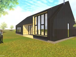 Casa Z|C Casas de estilo escandinavo de DCA estudio Escandinavo