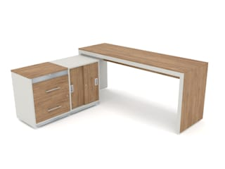 Carol Mobiliario Office spaces & stores Komposit Kayu-Plastik Wood effect