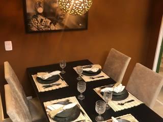 Conj Hab. Barreira Grande Salas de jantar rústicas por Costa Bastos Arquitetura Rústico