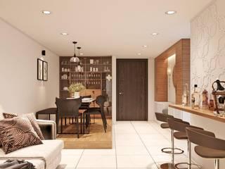 Ruang Makan Modern Oleh Studio Ezube Modern