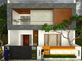 Rumah Modern Oleh Studio Ezube Modern