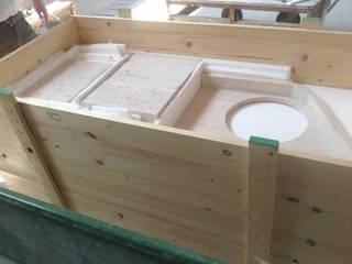 INDAMAR SRL Phòng tắm phong cách kinh điển Cục đá White