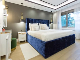 CE House Modern Yatak Odası CE's Mimarlik Stüdyosu Modern