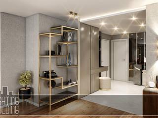 Lighting&Building – ' Kemerburgaz Evi ' Mimari Tasarım&Dekorasyon ve Uygulama Projesi : modern tarz , Modern