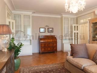 Элитный интерьер квартиры на Сивцевом Вражке Гостиная в классическом стиле от Nikolaeff.su Классический
