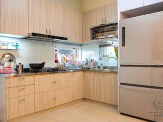 住宅空間-高雄-美術東六街 根據 雄邑室內設計裝修 現代風