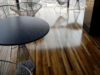 Maderas Finas Studio Bar & Klub Modern Kayu Wood effect