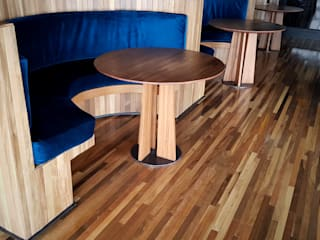 Maderas Finas Studio Bars & clubs modernes Bois Effet bois