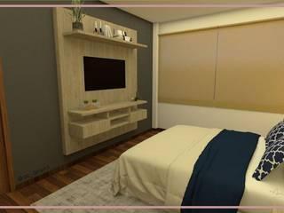 Arisu Cavero - Arquitectura de Interiores Eclectic style bedroom