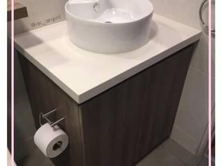 Arisu Cavero - Arquitectura de Interiores Modern Bathroom