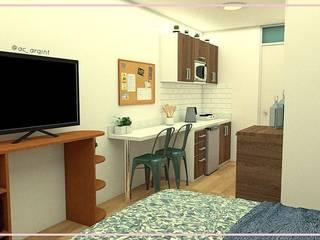 Arisu Cavero - Arquitectura de Interiores Modern Kitchen
