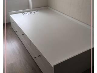 Arisu Cavero - Arquitectura de Interiores BedroomBeds & headboards