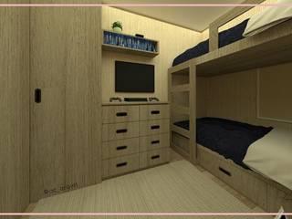 Arisu Cavero - Arquitectura de Interiores Modern Bedroom