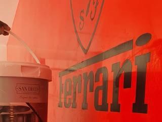 FERRARI RED SAN DECO Klasik