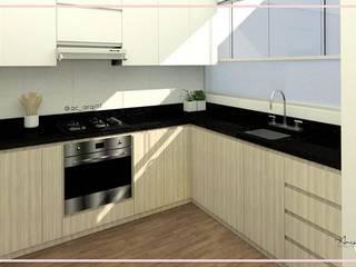 Arisu Cavero - Arquitectura de Interiores Small kitchens