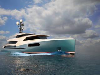 das3Dstudio – Yacht Design & 360 Grad Virtual Reality - Made in Germany das3Dstudio Moderne Yachten & Jets Blau