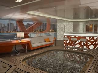 das3Dstudio – Yacht Design & 360 Grad Virtual Reality - Made in Germany das3Dstudio Moderne Yachten & Jets Orange