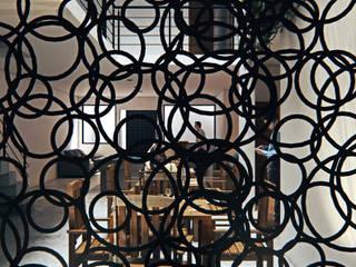 Render Design Modern dining room Metal Black