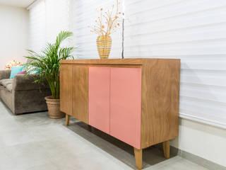 Carol Mobiliario Modern corridor, hallway & stairs Engineered Wood Wood effect