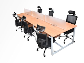 Carol Mobiliario Offices & stores Wood-Plastic Composite Wood effect