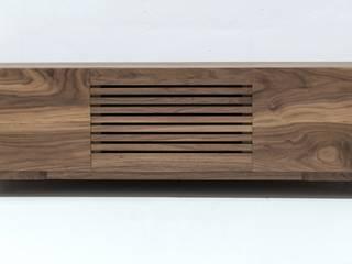 Mueble de salón de Albura Wood Designs Escandinavo