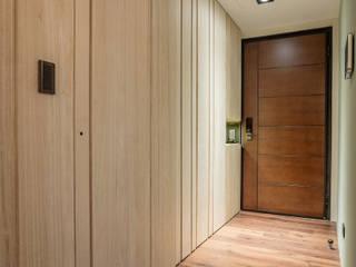 天然宜家 現代風玄關、走廊與階梯 根據 光合作用設計有限公司 現代風