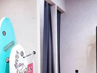 Отделка стен декоративной штукатуркой Торговые центры в стиле лофт от Интерьерный художник Лофт