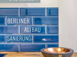 ALTBAUSANIERUNG BERLIN: KÜCHE & FLUR von Lu Interior Berlin Modern