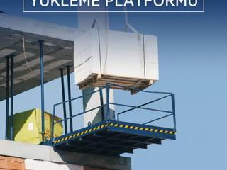 Yükleme Platformu Bayrakcı Metal İnşaat Endüstriyel
