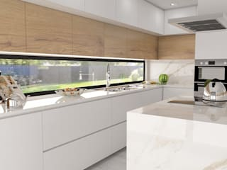 Modern kitchen by Casactiva Interiores Modern