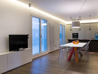Casa ZF Soggiorno moderno di 7047 Associati Moderno