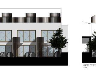 Residência de estudantes, Cascais por Ana Brandão