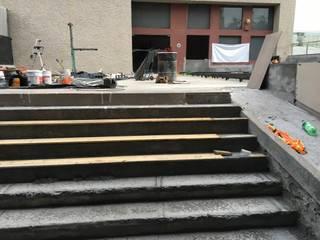 Tabla WPC piso deck y muro de Terraza de Tek Products Monterrey