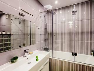 обычная двушка в Бутово Ванная комната в эклектичном стиле от DEKOHOME Эклектичный