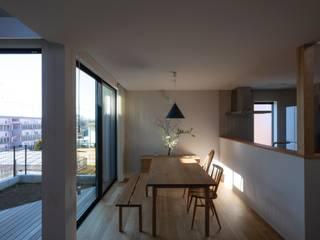 藤沢の家 北欧デザインの ダイニング の 内田雄介設計室 北欧