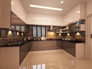 U SHAPE KITCHEN DLIFE Home Interiors Small kitchens